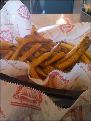 cheeburger fries