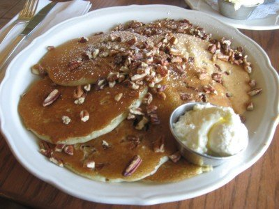 The Original Pancake House - Pecan Pancakes