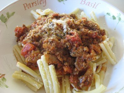Garofalo Pasta with Meat Sauce