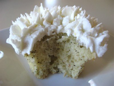 Earl Grey Tea Cupcakes - Innards