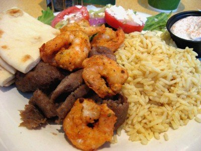daphnes-gyro-shrimp-plate