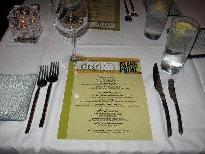 Restaurant Week Menu @ Island Prime - San Diego, CA