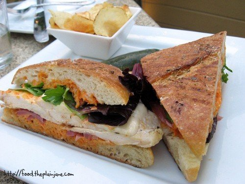 Grilled Chicken Mozzarella Panini / San Diego, CA - The Wine Pub
