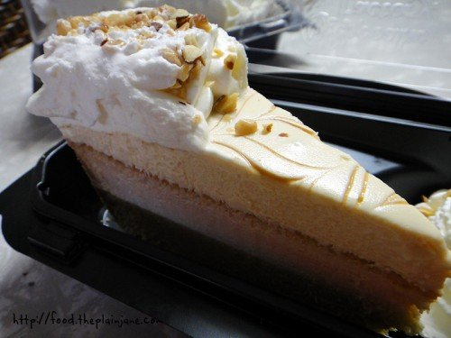 Dulce de Leche Cheesecake from the Cheesecake Factory