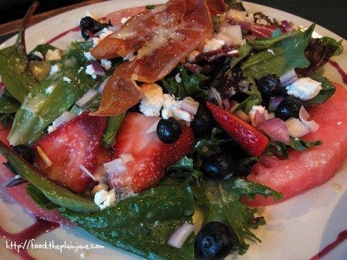 Summer Berry Salad - Karl Strauss Brewery / San Diego, CA