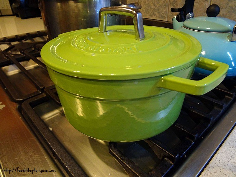 green enamel cast iron cookware images