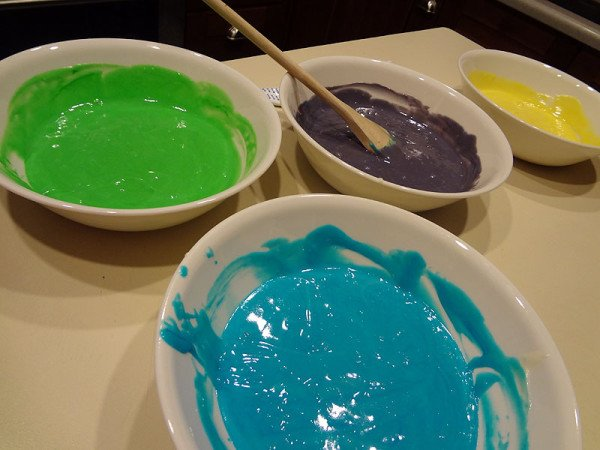 colorful-cake-batter