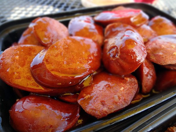hot-links-in-bbq-sauce