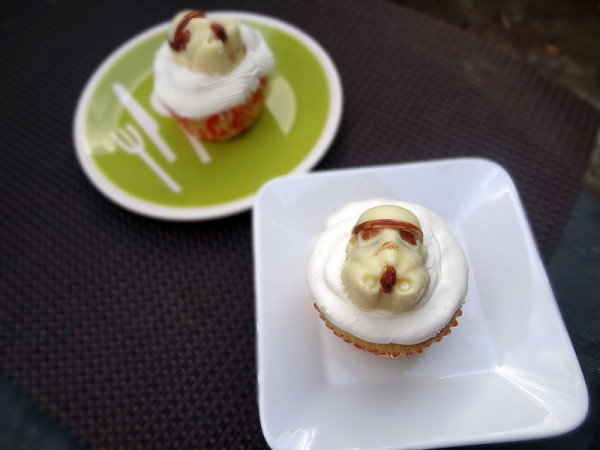 Star Wars Stormtrooper Cupcakes