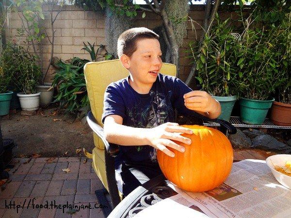 pumpkin-guts