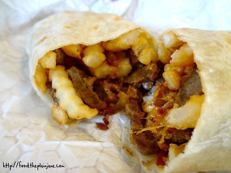 Bean And Cheese Burrito Del Taco steak-and-potato-epic-burrito