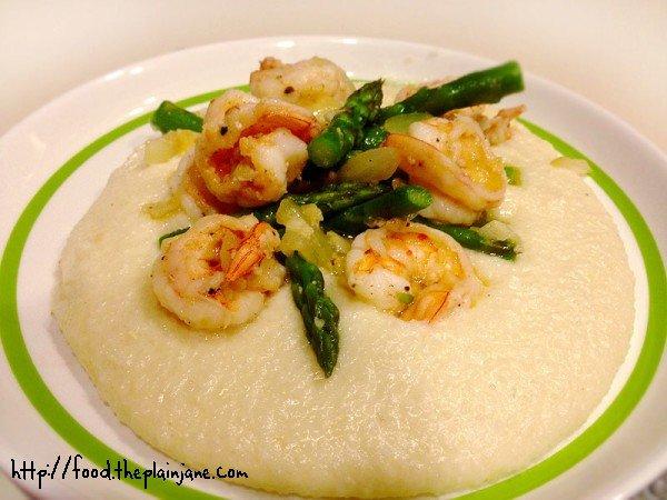 shrimp-grits-asparagus