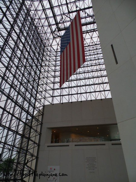 american-flag-jfk-library