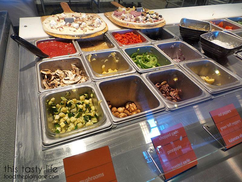 Blaze Pizza Toppings Veggies